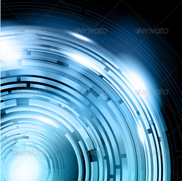 Futuristic Background - Backgrounds Decorative