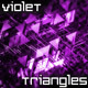 Ultraviolet Triangles Background - VideoHive Item for Sale