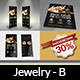 Jewelry Advertising Bundle Vol.2 - GraphicRiver Item for Sale