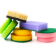 Various sponges for cleaning and dishwashing. - PhotoDune Item for Sale