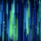 Green-blue Falling Neon VJ Background - VideoHive Item for Sale