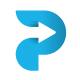 Letter P - Progress Logo