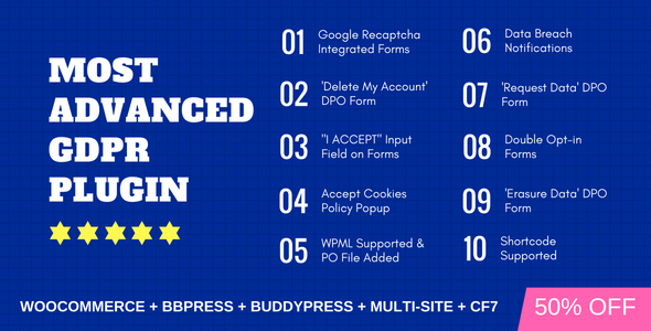 WP GDPR PRO - Most Advanced GDPR Plugin - CodeCanyon Item for Sale