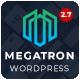 Megatron - Responsive MultiPurpose WordPress Theme - ThemeForest Item for Sale