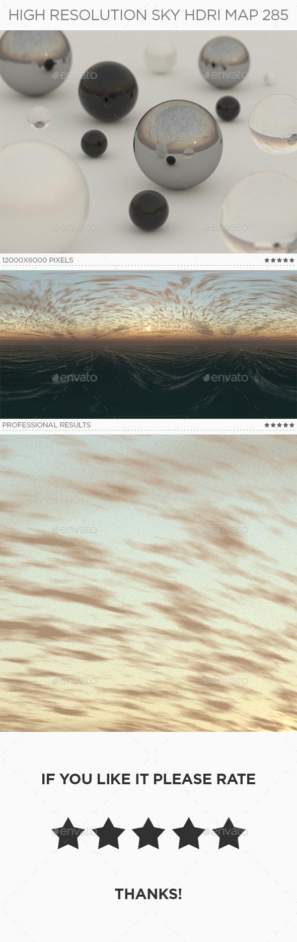High Resolution Sky HDRi Map 285 - 3DOcean Item for Sale