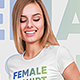 Female T-Shirt Mockups Vol4. Part 2 - GraphicRiver Item for Sale