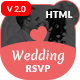 Wedding Invitation - Couple Event and Celebration HTML Template - ThemeForest Item for Sale