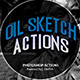 Free Download Oil Sketch Photo Action Nulled