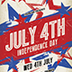 July 4th Flyer - GraphicRiver Item for Sale