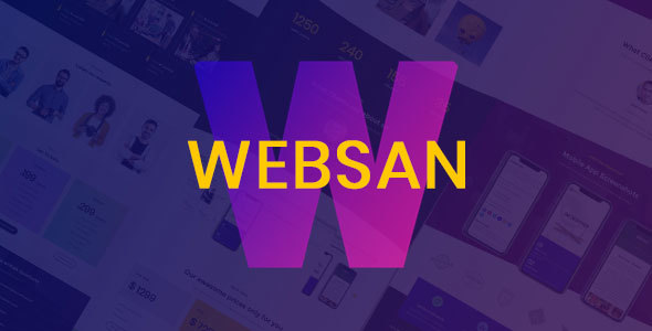 Image of Websan - One and Multipage Business Template