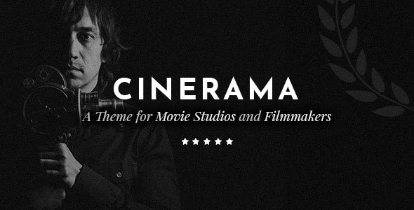 Cinerama - A Theme for Movie Studios and Filmmakers - Creative WordPress