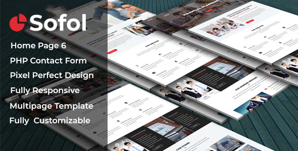 Image of Sofol - Corporate Business Template