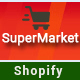 Free Download SuperMarket - Responsive Drag & Drop Sectioned Bootstrap 4 Shopify Theme Nulled