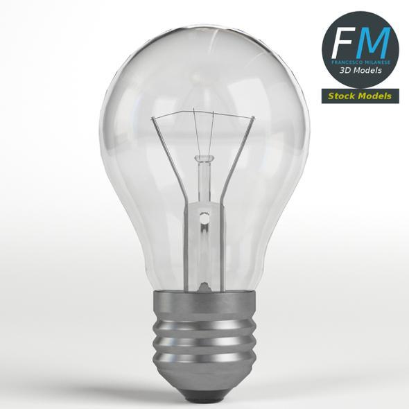 Light Bulb 1 - 3DOcean Item for Sale