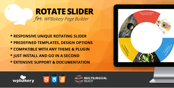 Rotate Slider Addon for WPBakery Page Builder (formerly Visual Composer)            Nulled