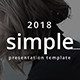 Free Download Simple Minimal Google Slide Template Nulled