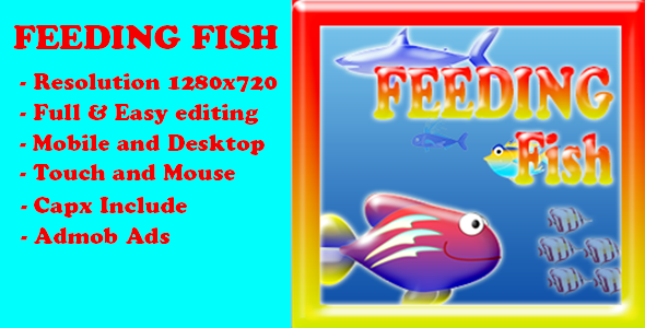 Feeding Frenzy Fish (Capx + Admob)            Nulled