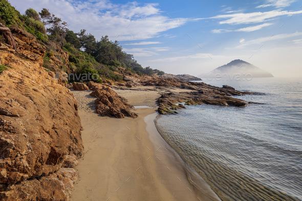 Thassos island, Greece - Stock Photo - Images