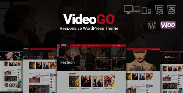VideoGo - Video Responsive WordPress Theme - Blog / Magazine WordPress