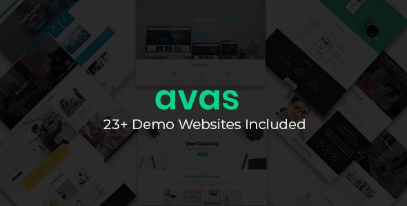 Avas | Business Purpose WordPress Theme - Business Corporate