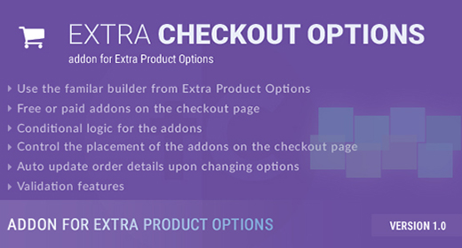 Extra Checkout Options