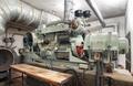 Big old diesel generator inside an shelter - PhotoDune Item for Sale