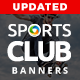 Gym & Sports club Banners - Updated! - GraphicRiver Item for Sale