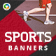 Sports Banners - Updated! - GraphicRiver Item for Sale
