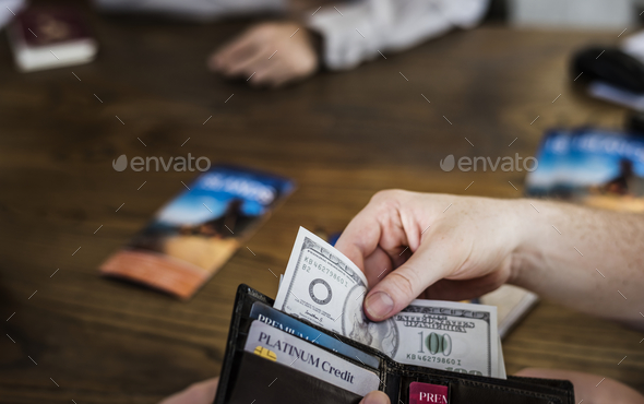 Payment for a trip - Stock Photo - Images