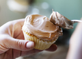 Chocolate cupcake food photography recipe idea - PhotoDune Item for Sale