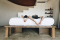 Honeymoon couple relaxing in a hotel room - PhotoDune Item for Sale