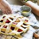 A person baking fruit pie food photography recipe idea - PhotoDune Item for Sale