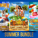 Summer Flyer Bundle V2 - GraphicRiver Item for Sale