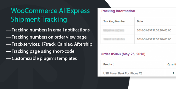 WooCommerce AliExpress Shipment Tracking - CodeCanyon Item for Sale