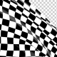 Checkered Race Flag Waving with an Alpha Channel - VideoHive Item for Sale