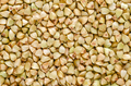 Hulled common buckwheat grains macro photo from above - PhotoDune Item for Sale