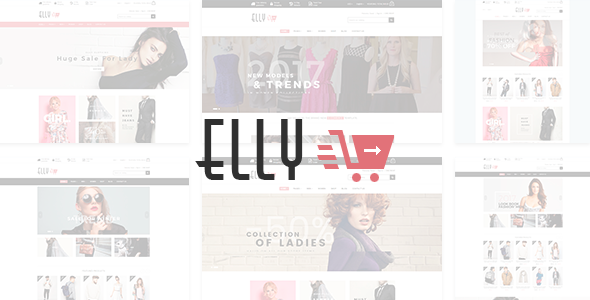 Elly - Fashion eCommerce Bootstrap 4 Template - Fashion Retail