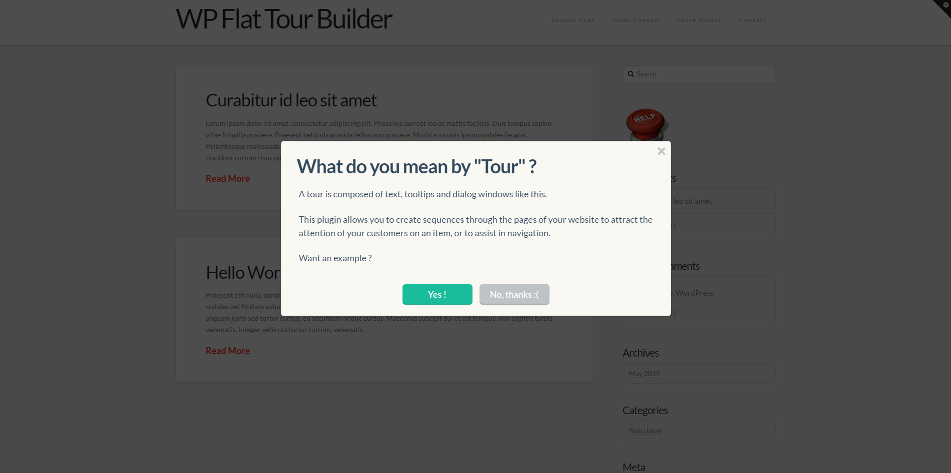 Wp Flat Tour Builder By Loopus Codecanyon