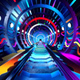 Subway Neon Tunnel - VideoHive Item for Sale