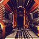 The Corridor Of The Space Station - VideoHive Item for Sale