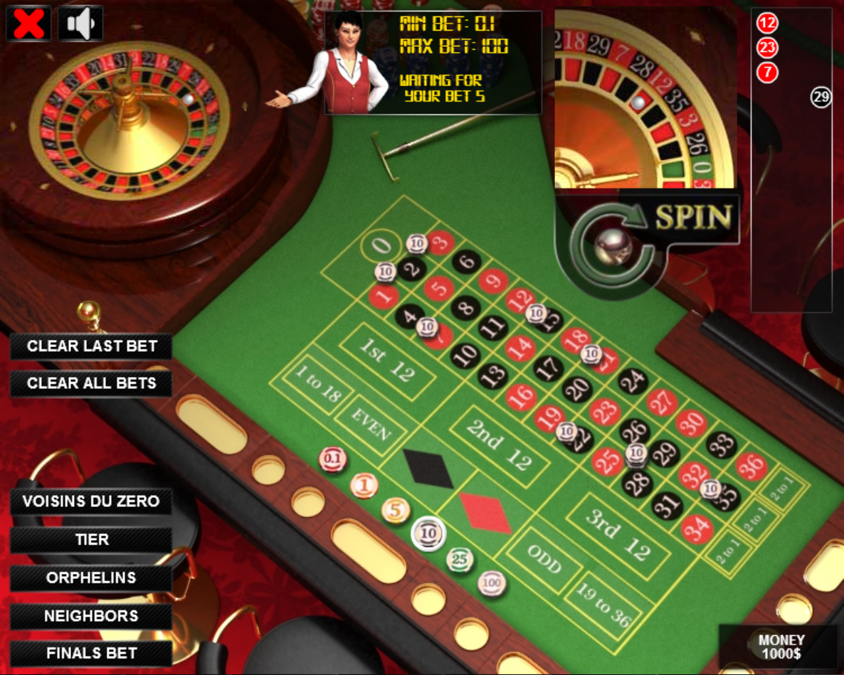Roulette game source code chasers poker room nh