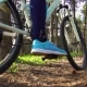 Cyclist Riding Mountain Bike in the Forest - VideoHive Item for Sale