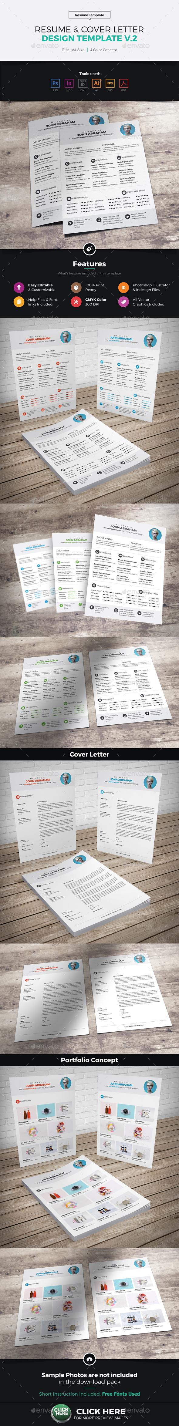 Resume & Cover Letter Design v2 - Resumes Stationery