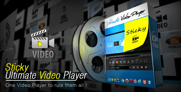 Sticky Ultimate Video Player - CodeCanyon Item for Sale