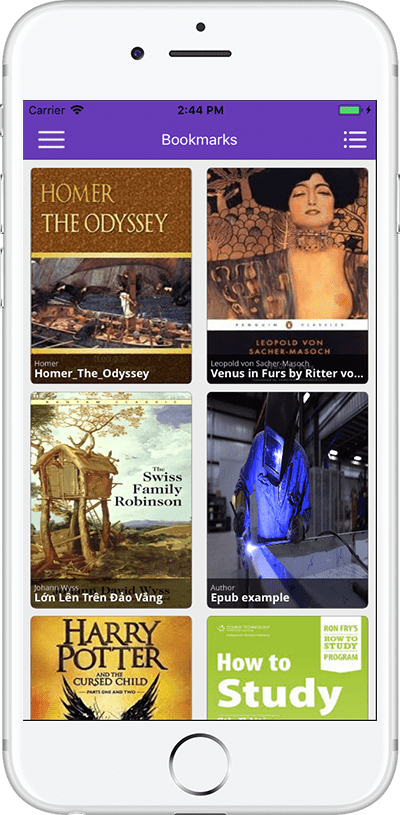 Ebook manga ios by suusoft codecanyon ebook ios all ming fandeluxe Gallery