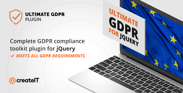 Ultimate GDPR Compliance jQuery Toolkit            Nulled