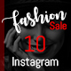 Instagram Fashion Templates ( 10 in 1 ) - GraphicRiver Item for Sale
