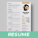 Cv Template - GraphicRiver Item for Sale