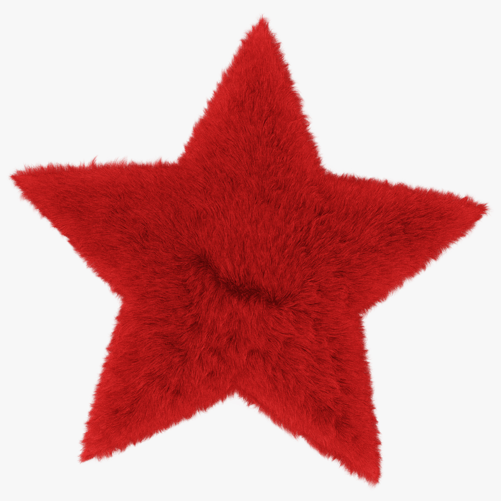 Rug Star Red