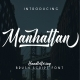 Manhattan Font + Bonus Swash